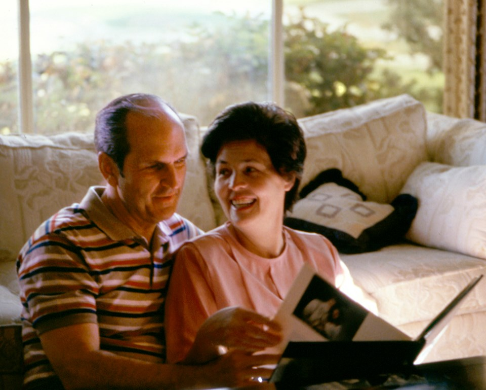 Presidente Nelson y su esposa Dantzel