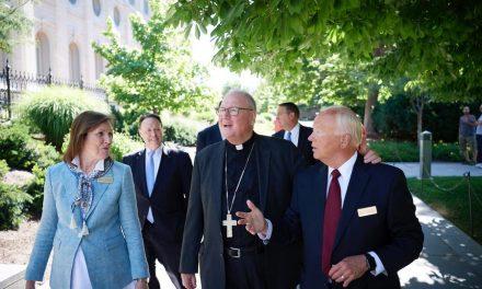 Lo que dijo un líder católico después de visitar la Manzana del Templo en Salt Lake