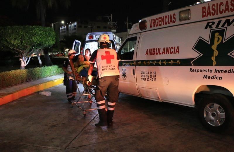 intoxicados en FSY Cancún