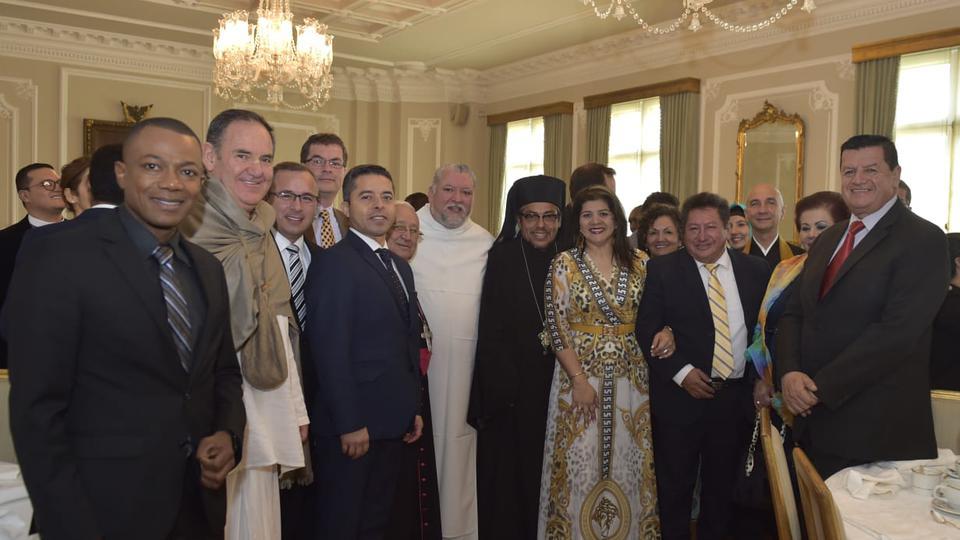 presidente de Colombia y la iglesia de Jesucristo