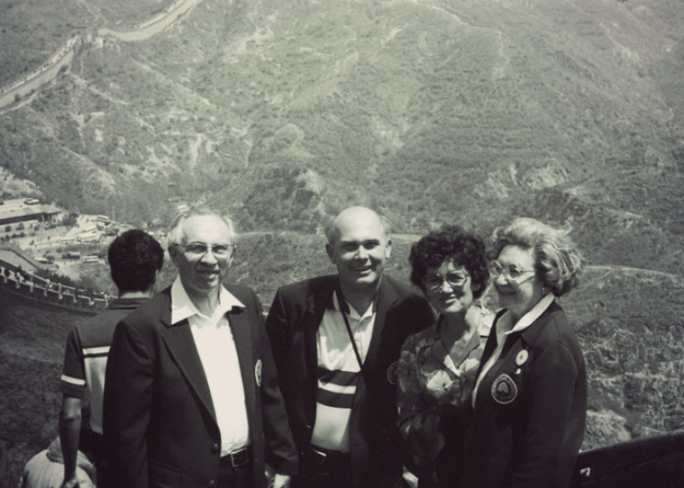 presidente Oaks y Hinckley