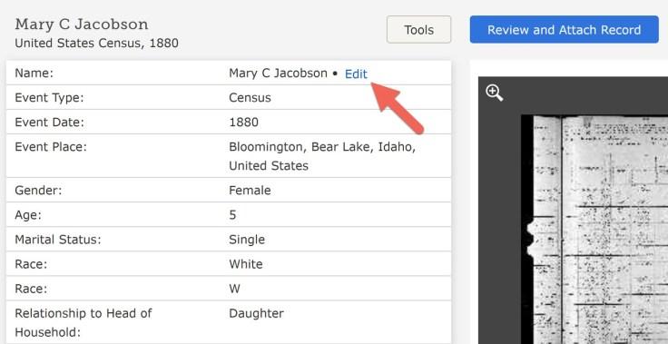 FamilySearch nueva herramienta