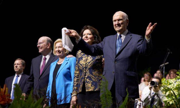 """Presidente Nelson en Argentina: """"Ahora es el momento de elegir a Cristo"""""""