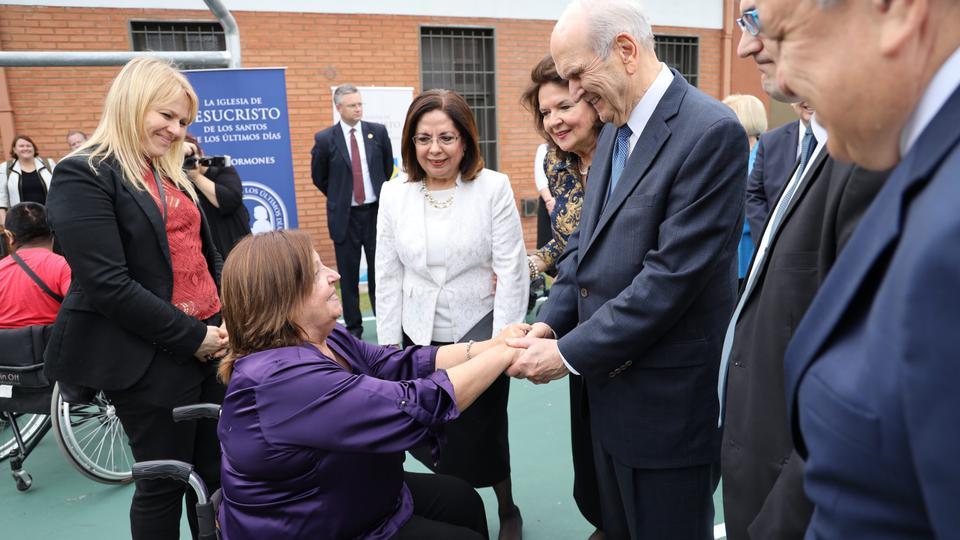 Presidente Nelson en Argentina