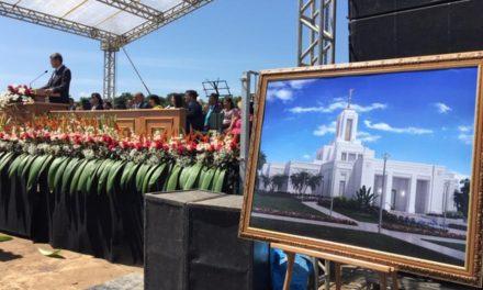 Se realiza la Palada Inicial del Templo de Belém, Brasil