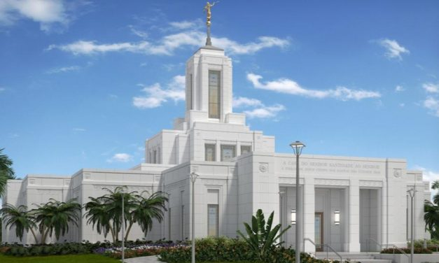 Se anuncia fecha para la Palada Inicial del templo de Belém, Brasil