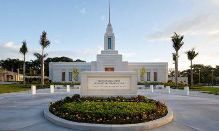 Se dedica el primer Templo de Haití
