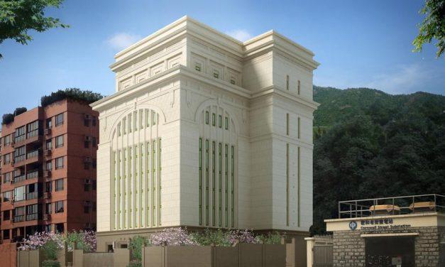 Todo los detalles de la renovación del Templo de Hong Kong, China