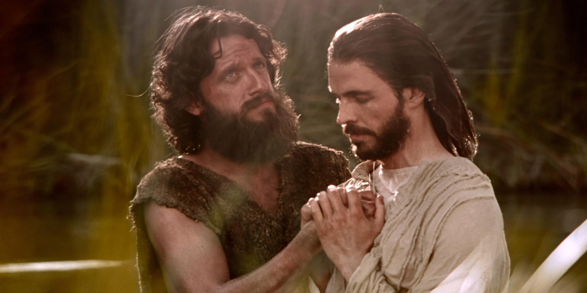 Un día con Jesús - bautismo