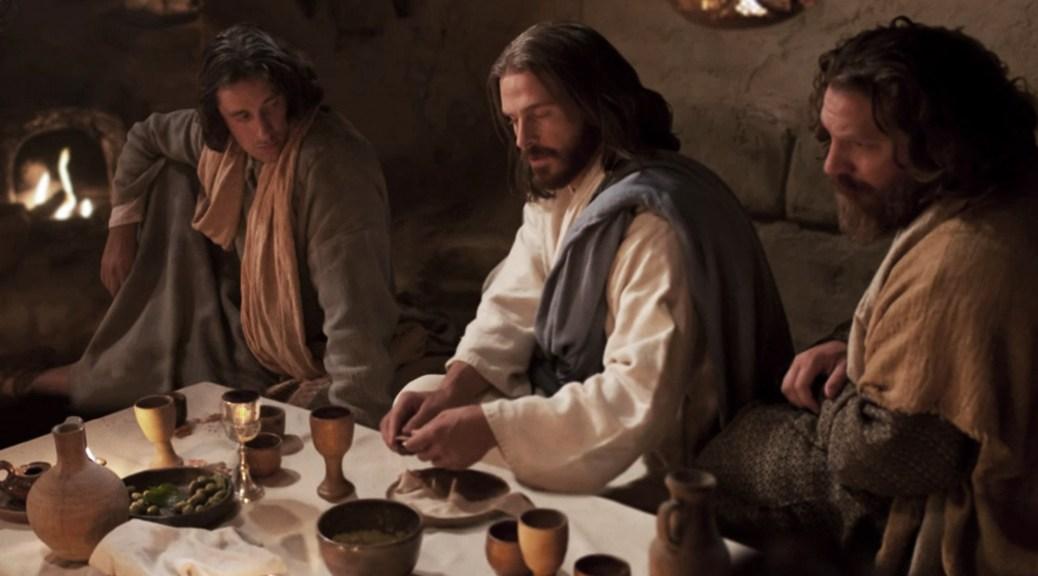 Un día con Jesús - santa cena