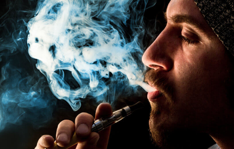 cigarro electrónico, café, té y marihuana