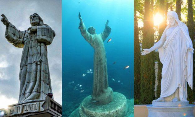 Un Cristo bajo el agua + 19 imágenes increíbles de estatuas de Cristo de todo el mundo