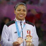 Thalía Mallqui miembro de la iglesia gana medalla de bronce