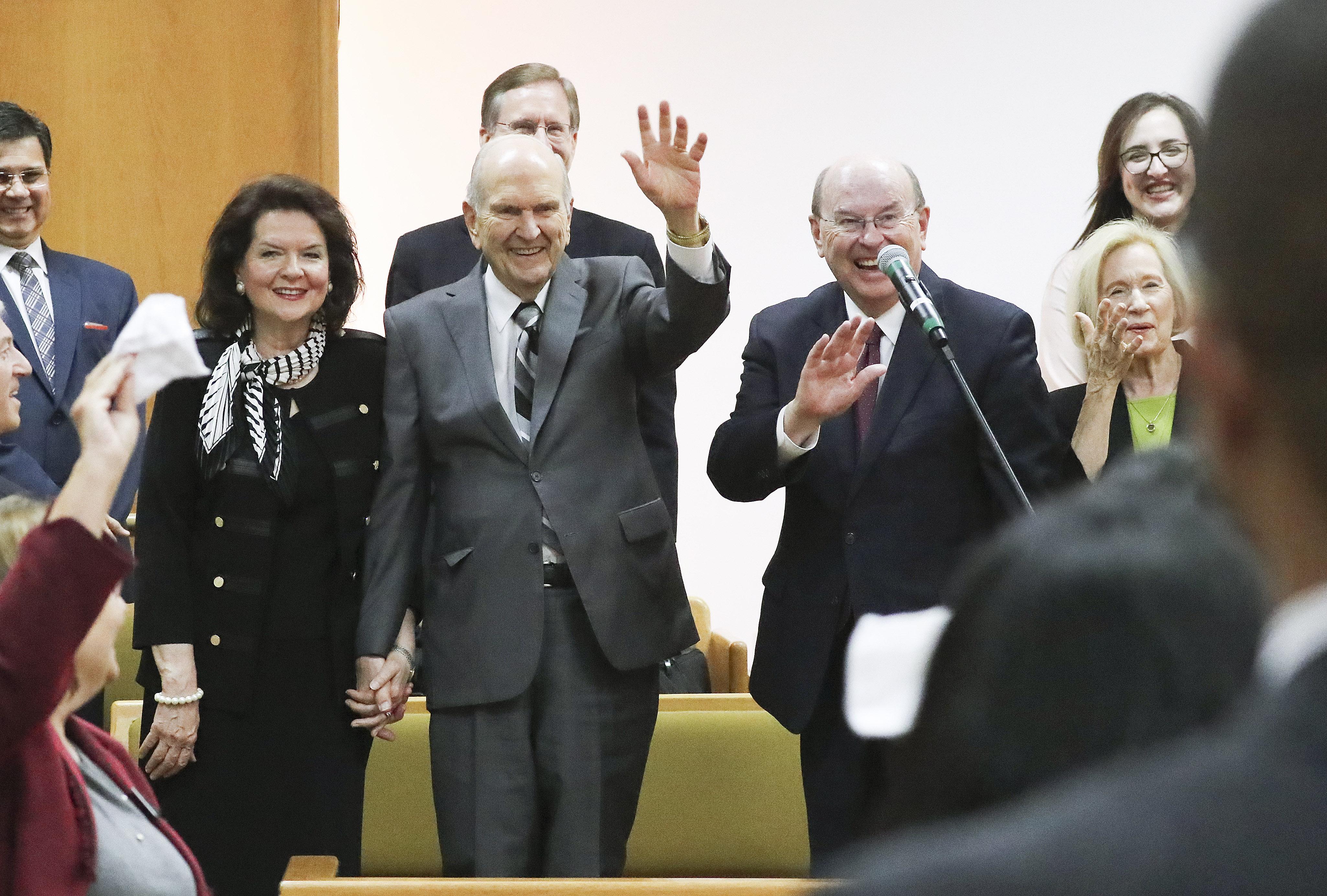 presidente Nelson en Brasilia