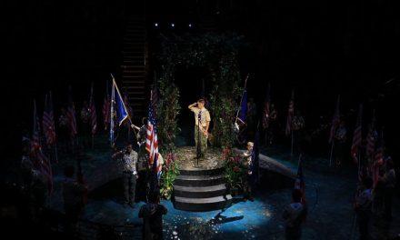 Boy Scouts rinden tributo a la Iglesia de Jesucristo