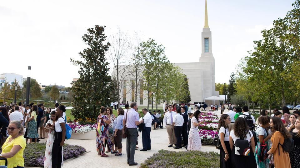 Dedicación del Templo de Portugal