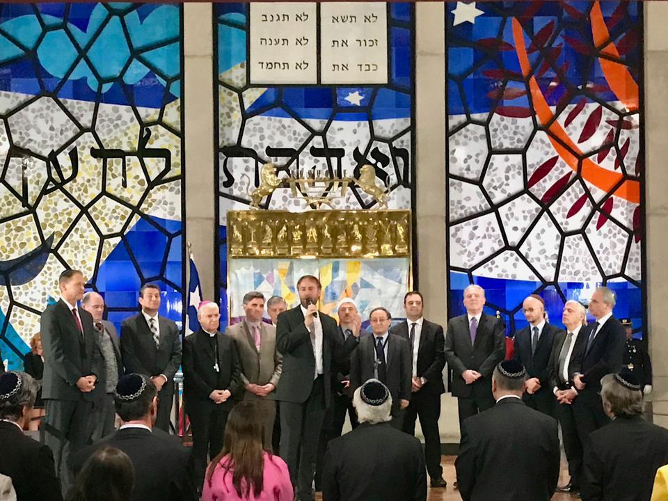 Líderes de la Iglesia de Jesucristo y líderes judíos