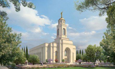 Este será el diseño del Templo de Feather River, California