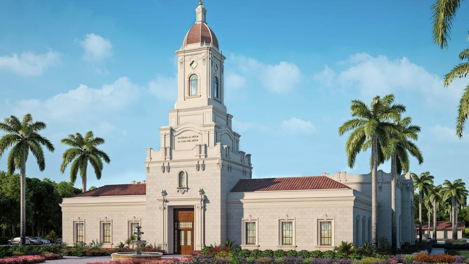 Se anuncia la Palada inicial del Templo de Puebla, México