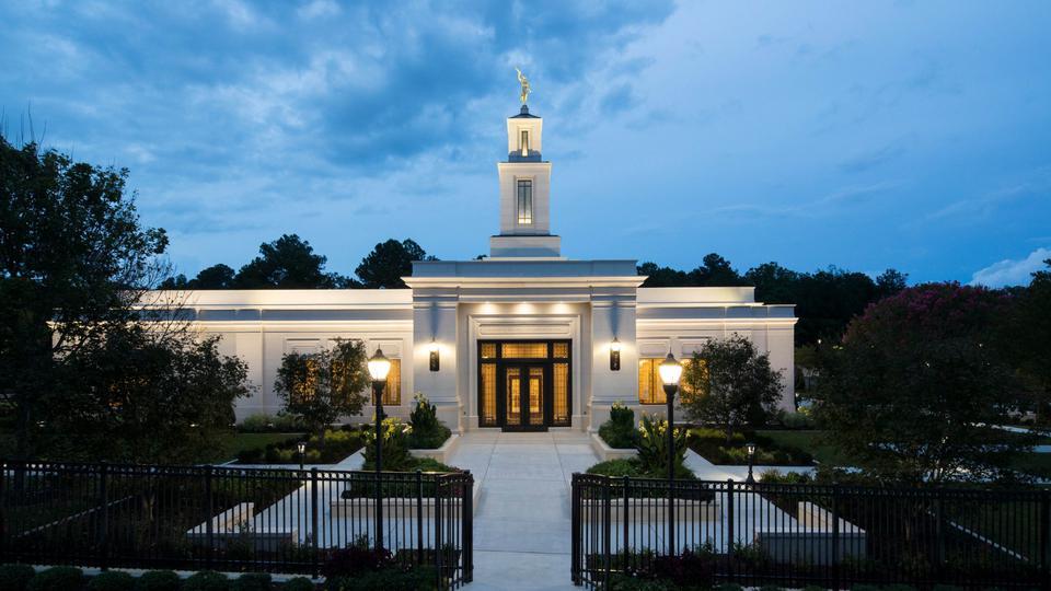 Templo de Raleigh Carolina del Norte