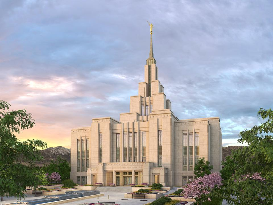 Templo de Saratoga Springs