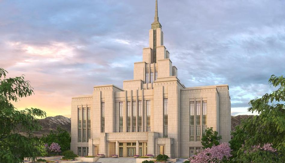 Se anuncia fecha de la Palada inicial del Templo Saratoga Springs