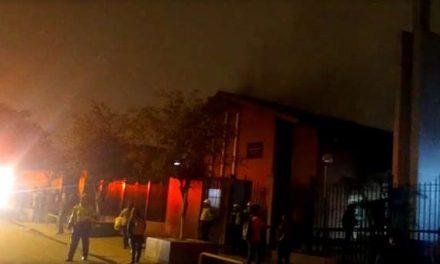 Se incendia Centro de reuniones de la Iglesia de Jesucristo en Lima, Perú