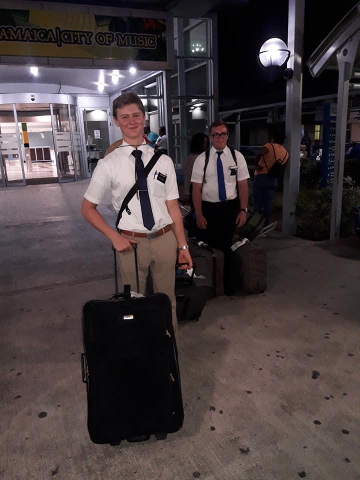 misioneros rescatados en Bahamas