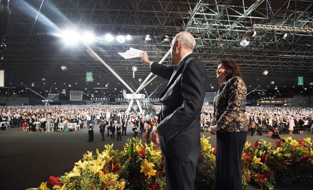 presidente Nelson en Brasil