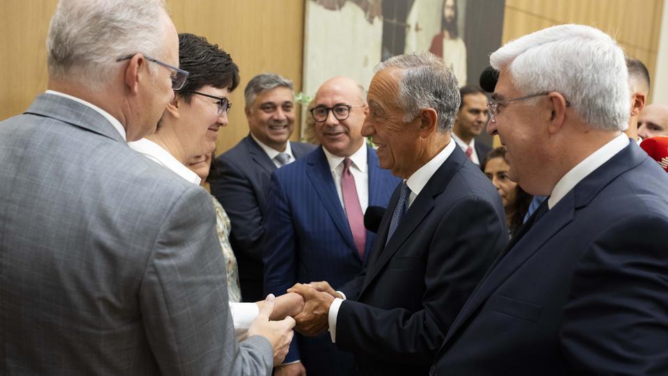 presidente de Portugal - Templo de Lisboa