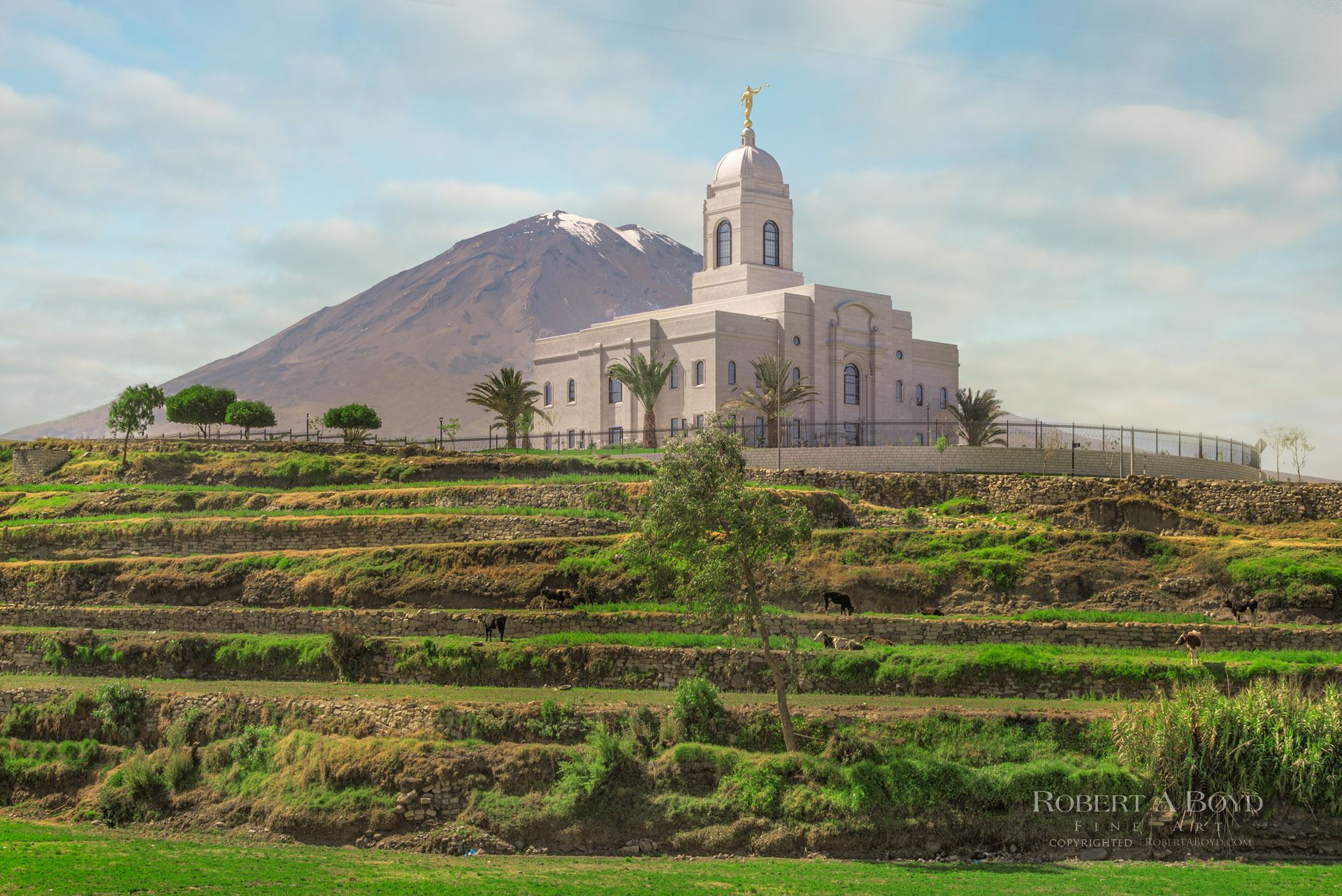 Templo de Arequipa.