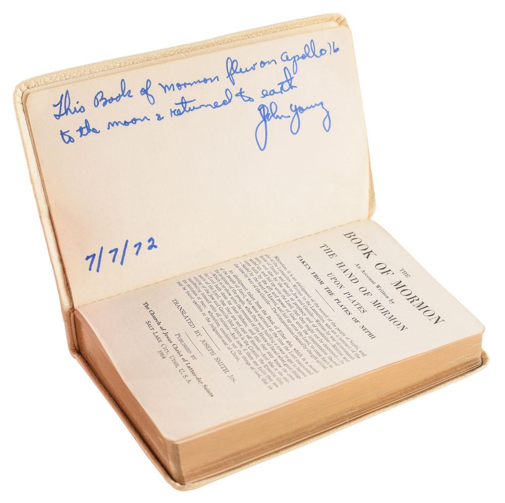 El Libro de Mormón en la Luna