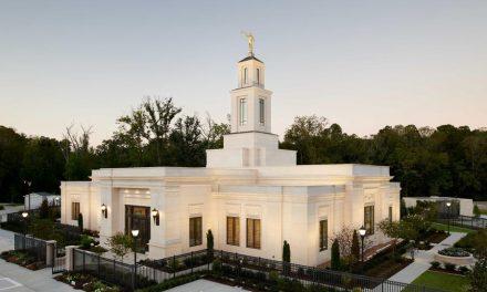 El Templo de Baton Rouge Louisiana abre puertas al público