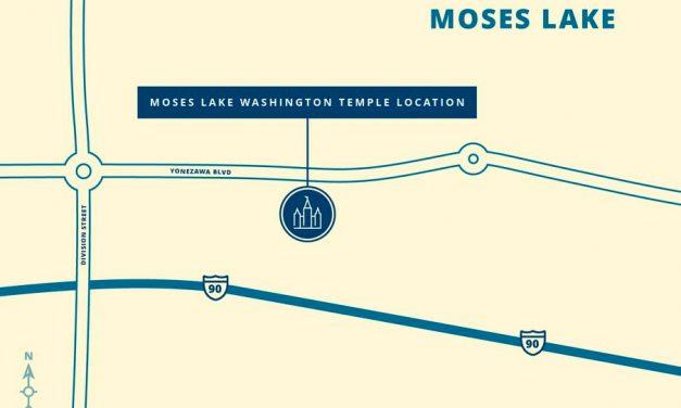Se anuncia el sitio para la edificación del Templo de Moses Lake Washington