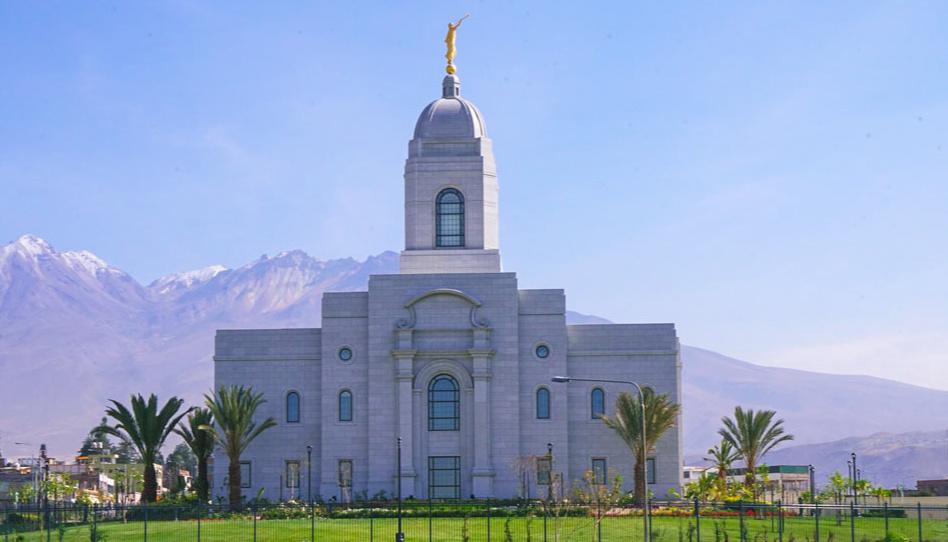 Se anuncia la jornada de puertas abiertas del Templo de Arequipa, Perú