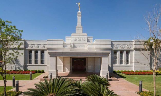 El renovado Templo de Asunción, Paraguay abre sus puertas al público