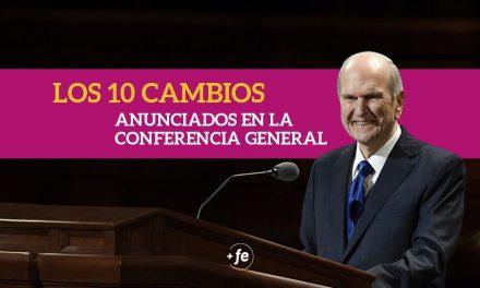 Estos son los 10 cambios anunciados en esta Conferencia General