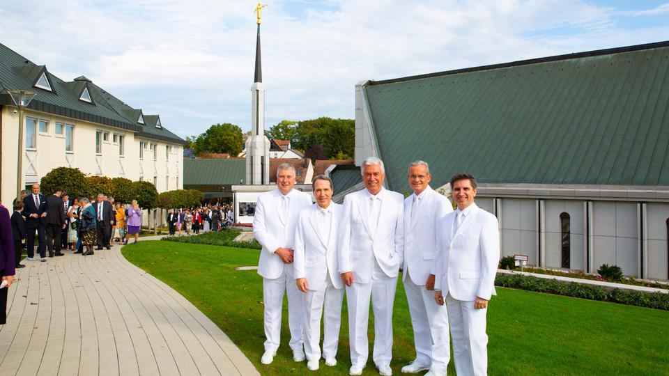 dedicación Templo de Frankfurt Alemania