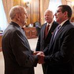 embajador de Cuba y presidente Nelson