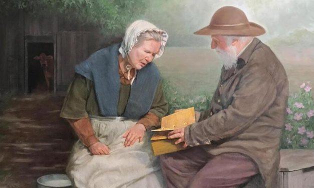 Historia de la Iglesia: el hombre misterioso que le mostró las planchas a Mary Whitmer