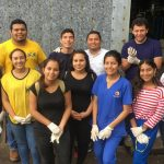 niños en un hospital de El Salvador