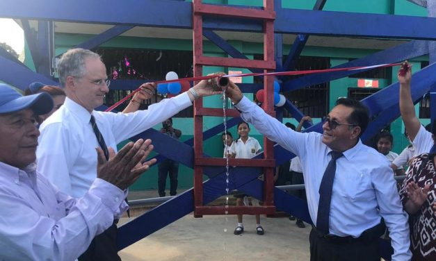 La Iglesia de Jesucristo lleva agua potable a 25,000 personas en Perú