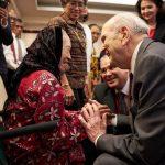 Presidente Nelson en Indonesia