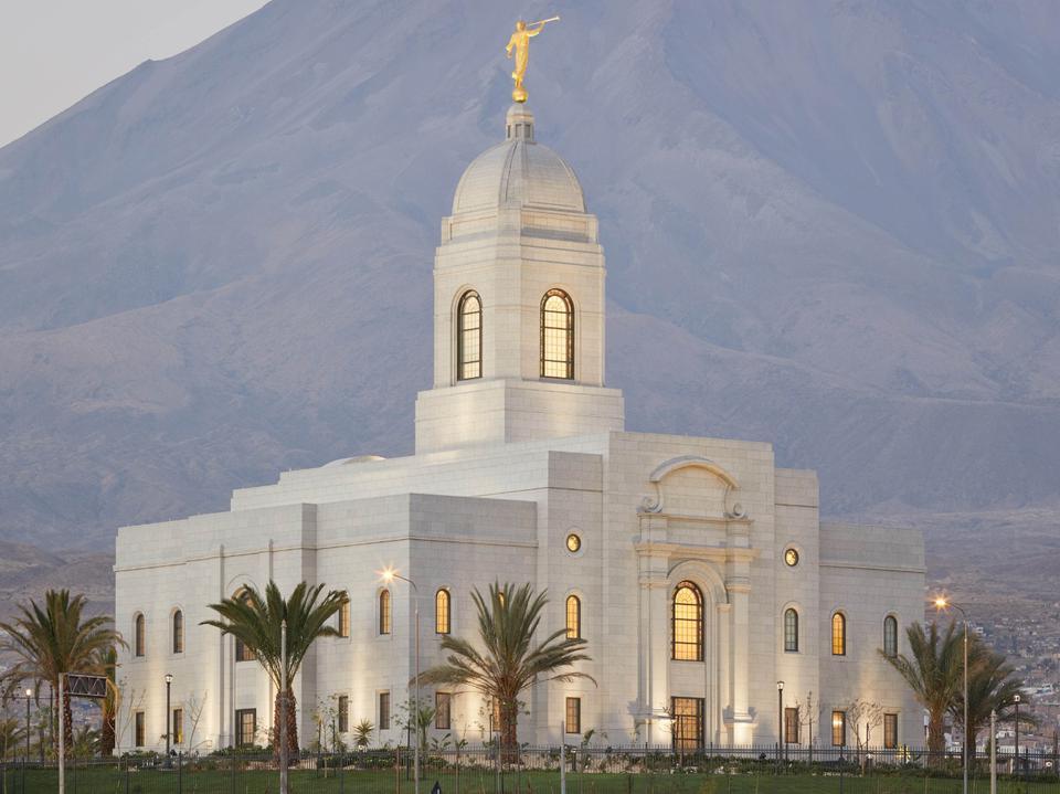 Templo de Arequipa - presidente Nelson