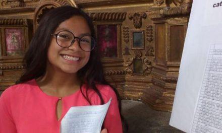 Jovencita de la Iglesia de Jesucristo gana concurso de literatura
