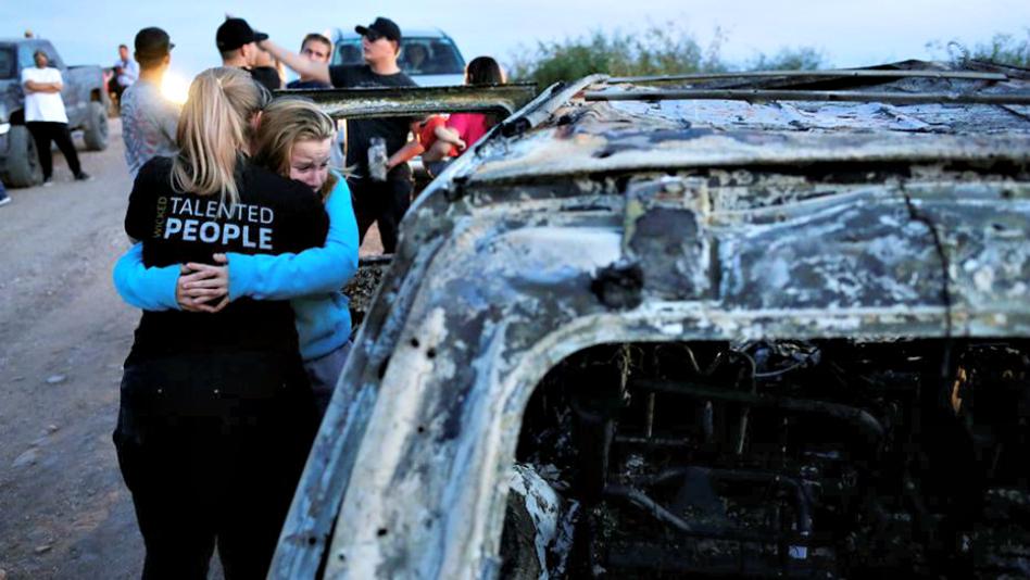 Familiar de víctimas de la masacre en México se pronuncia al respecto