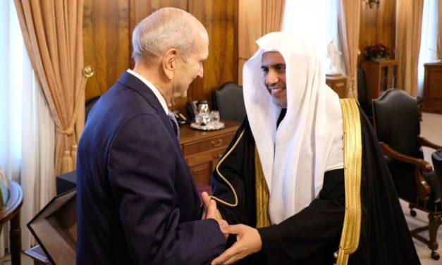 Líder musulmán se reúne con la Primera Presidencia para entablar una amistad interreligiosa