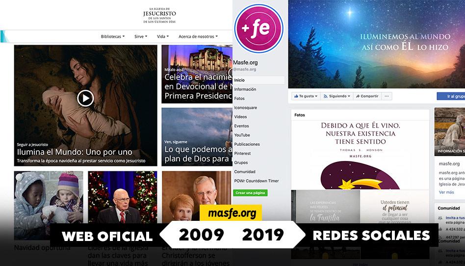 la iglesia de Jesucristo en el 2009 vs 2019