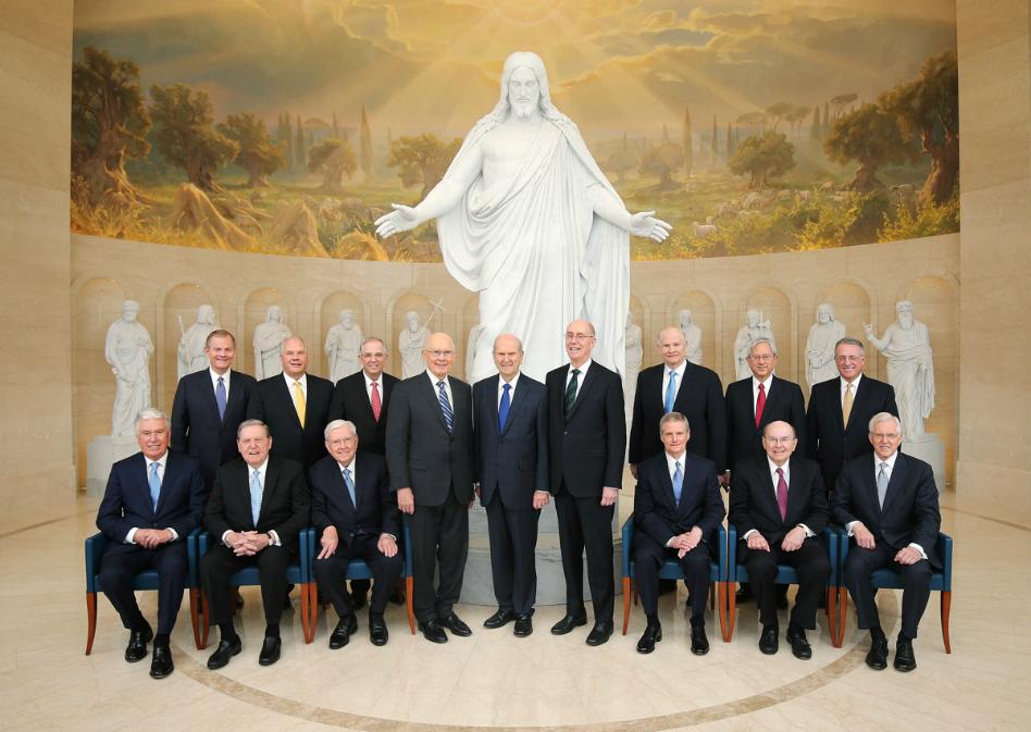Primera Presidencia y Cuórum de los Doce Apóstoles