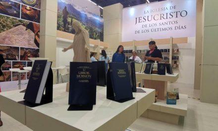 El Libro de Mormón es presentado en la Feria Internacional del Libro en México